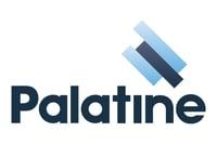 Palatine logo white background