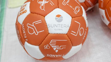 Suntera Ball Bounce Back Campaign - Jersey 2 Africa 4 Football Foundation